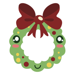 Cute wreath element