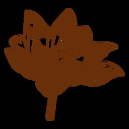 Flora flower simple