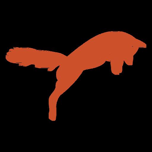 Fox silhouette cute