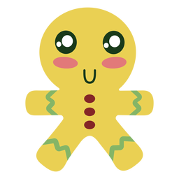 Gingerbread cookie element