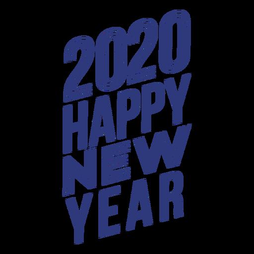 Happy new year badge