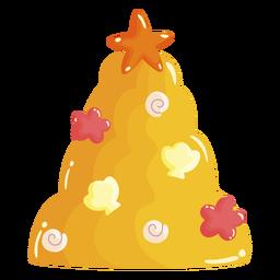 Árbol de navidad de gelatina