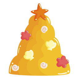 Jelly christmas tree