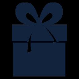 Caja de regalo cinta grande azul
