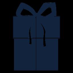 Caixa de presente grande azul