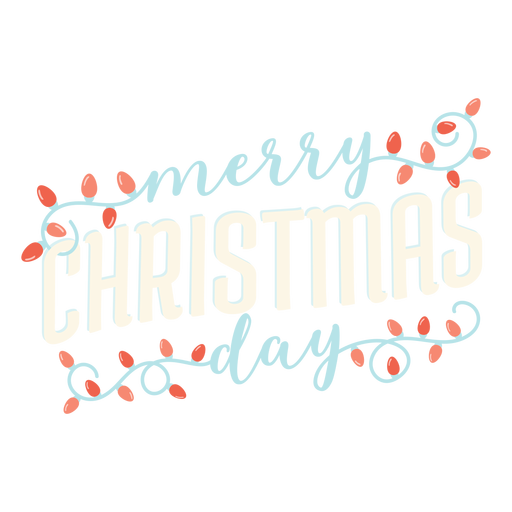 Merry christmas lettering lettering Transparent PNG