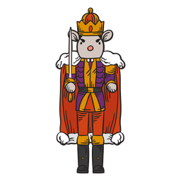 Mouse king nutcracker character