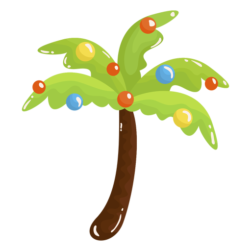 Palm tree christmas Transparent PNG
