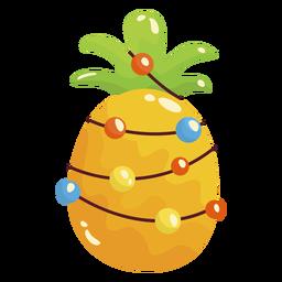 Ananas Weihnachten cool