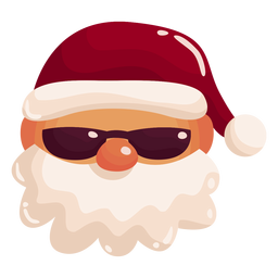 Santa cool shades
