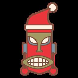 Santa tropics icon