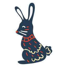 Scandinavian cute bunny