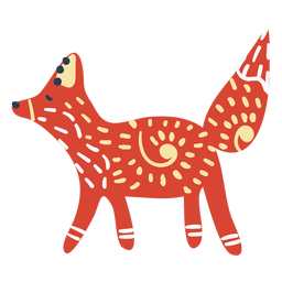 Scandinavian cute fox