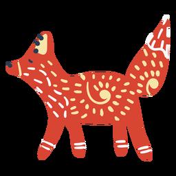 Skandinavischer süßer Fuchs