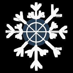Floco de neve fofo escandinavo