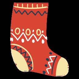 Scandinavian fluffy sock