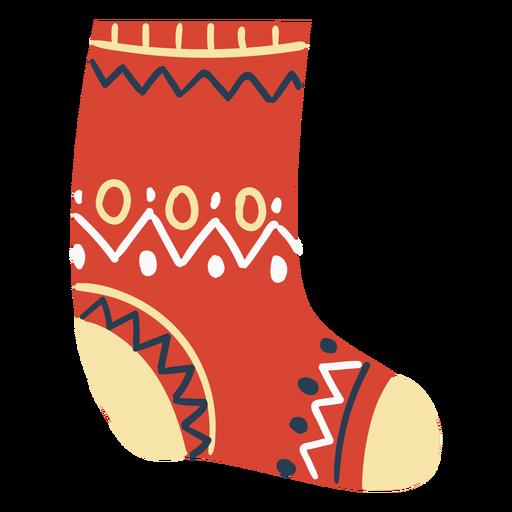Scandinavian fluffy sock Transparent PNG