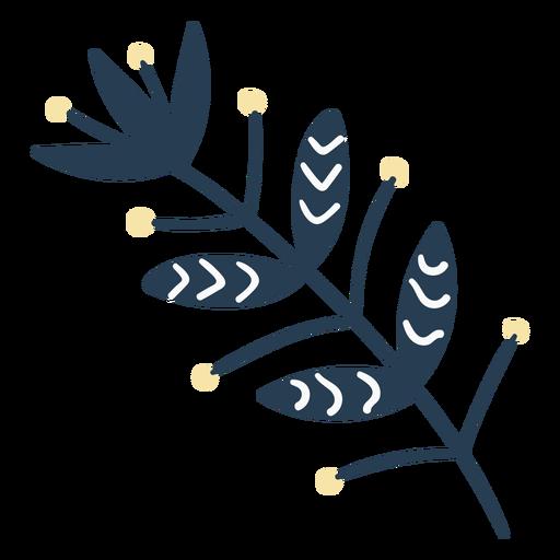 Bonita flora escandinava
