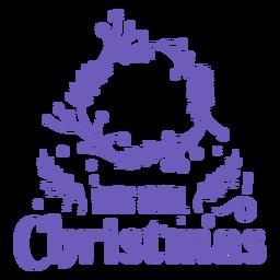 Simple cuenta regresiva de navidad