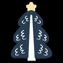 Árbol de navidad escandinavo simple