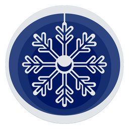 Papercut simples floco de neve