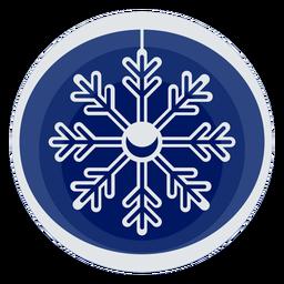 Simple snowflake papercut