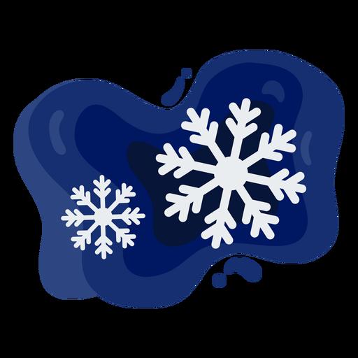 Snowflakes simple papercut