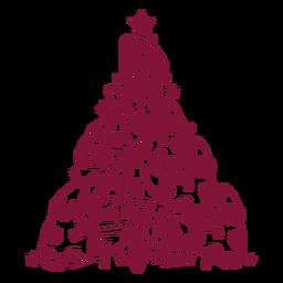 Árbol de navidad de gatos Sphynx