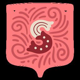 Valentine garland letter s