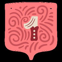 Guirnalda de San Valentín número uno