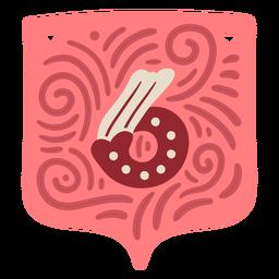 Guirnalda de San Valentín número seis