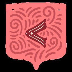 Símbolo de guirnalda de San Valentín