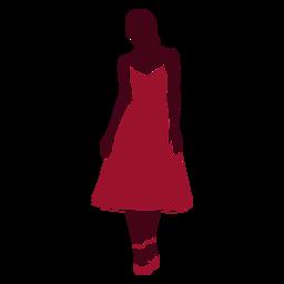 Woman fashion pose silhouette fashion
