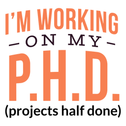 Trabajando en letras de doctorado