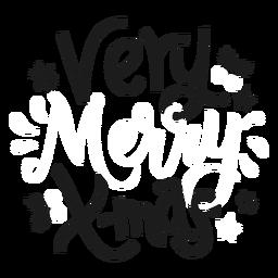 Letras de navidad de navidad