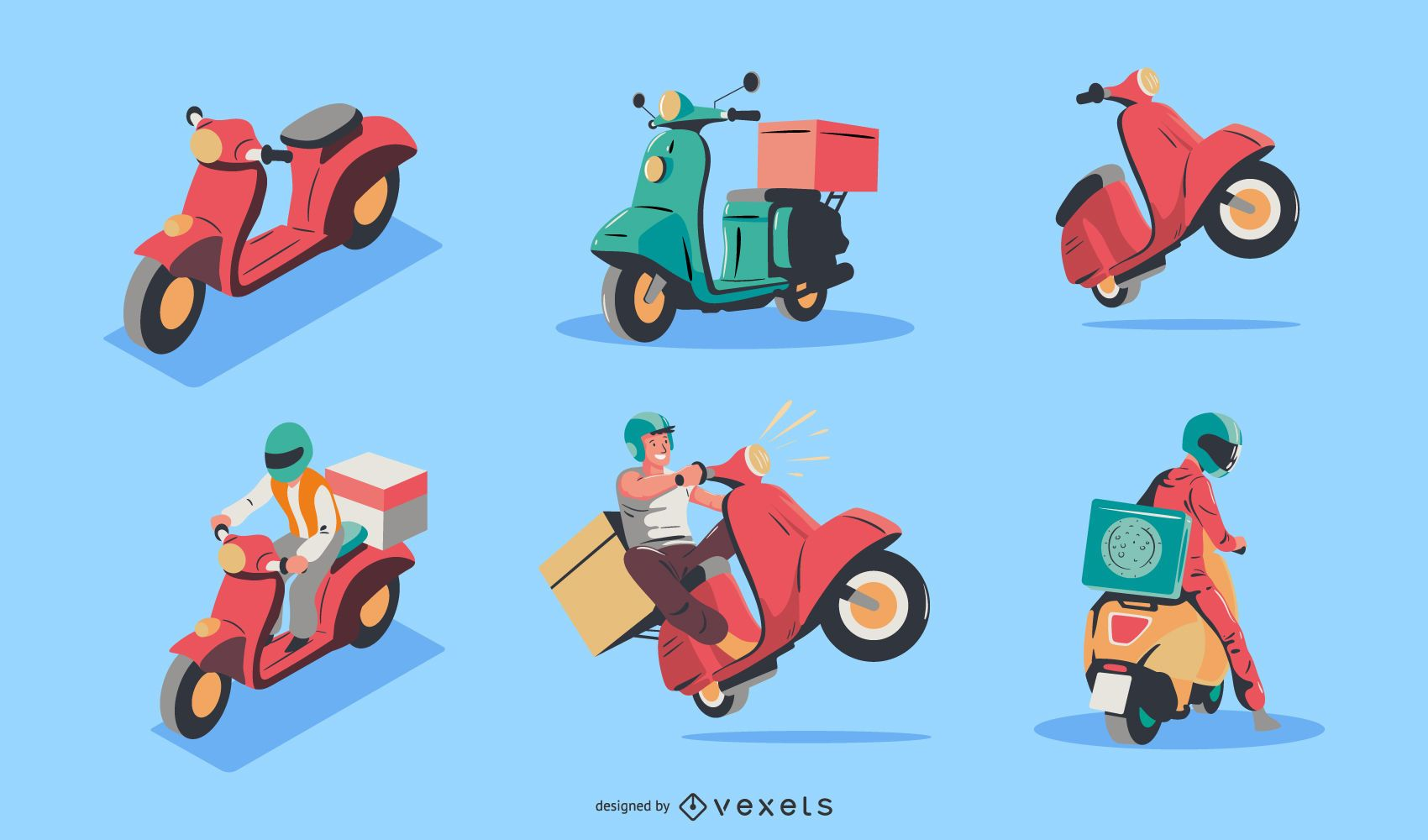 Delivery character set