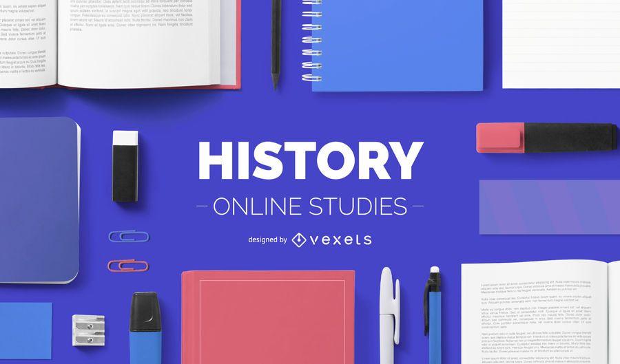History online studies cover design
