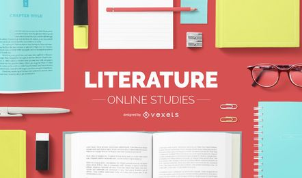 Literature online studies cover design