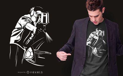 Auto Maler T-Shirt Design