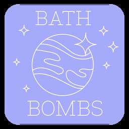 Línea de etiquetas de bombas de baño de baño