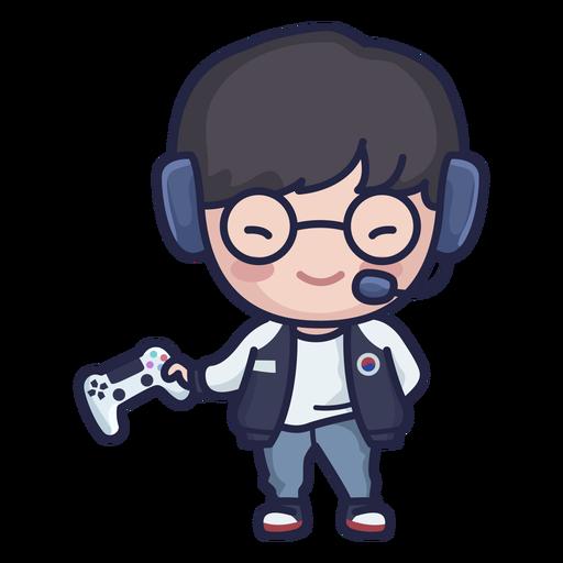 Lindo personaje de jugador surcoreano Transparent PNG
