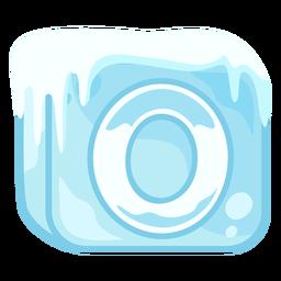 Número de cubo de hielo 0