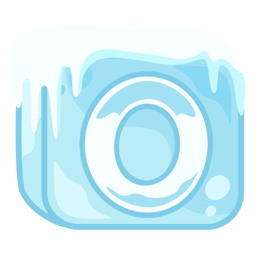 Número de cubo de hielo 0 Transparent PNG