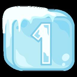 Cubito de hielo número 1