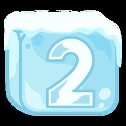Cubito de hielo número 2