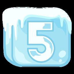 Cubo de hielo número 5