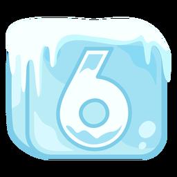Cubo de hielo número 6