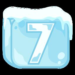 Cubo de hielo número 7