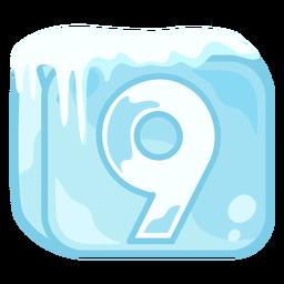 Cubo de hielo número 9