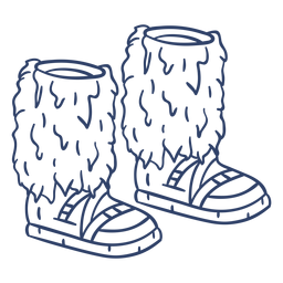 Arctic boots stroke
